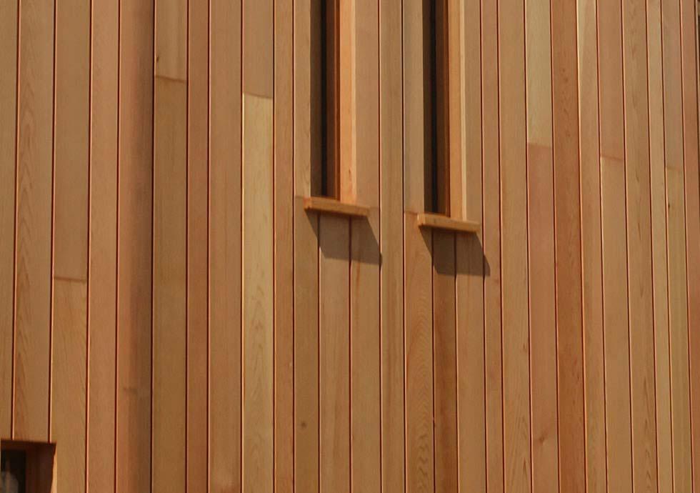 Timber Cladding Window detail