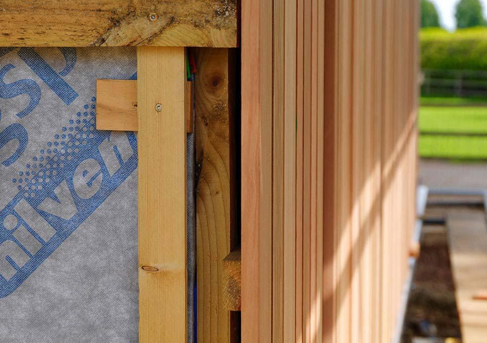 Timber Cladding Case Study, Canadian Red Cedar Exterior