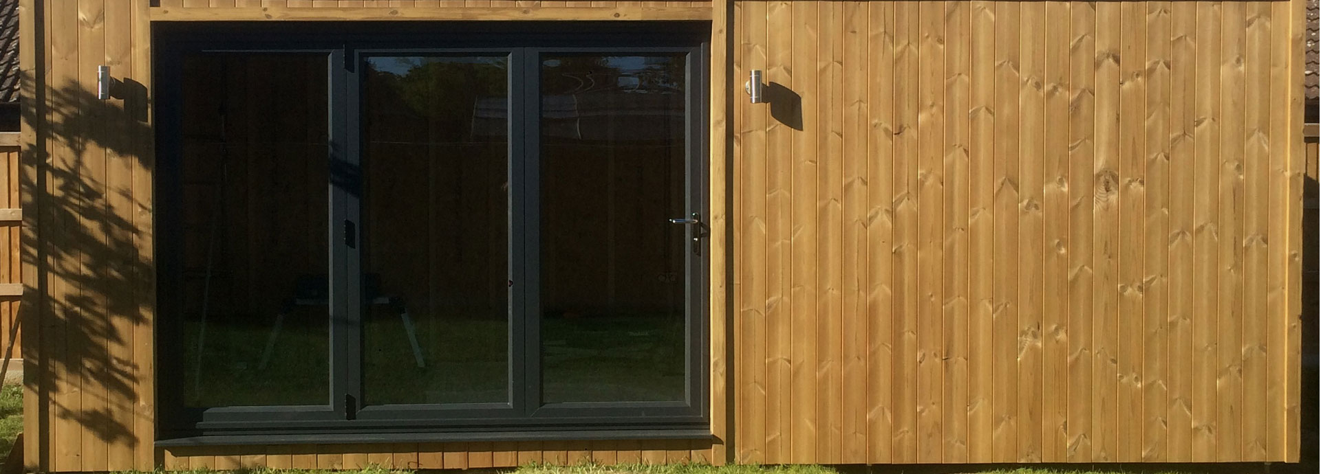 Thermowood timber cladding