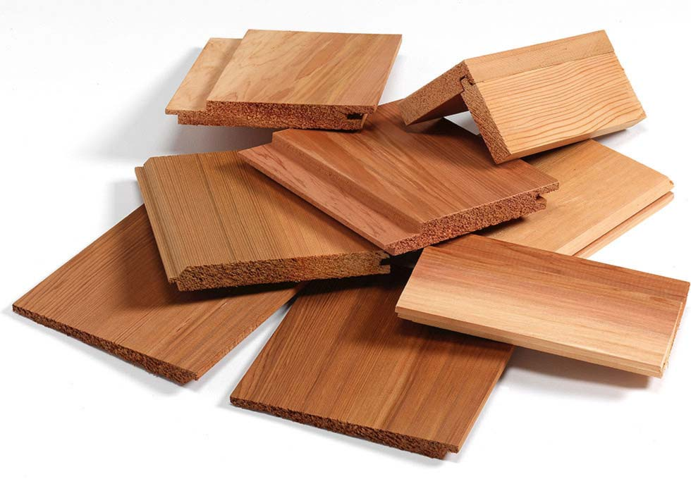 cedar cladding boards