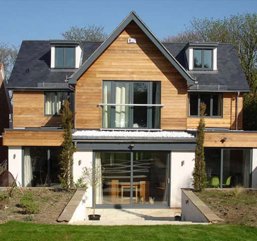 timber cladding image