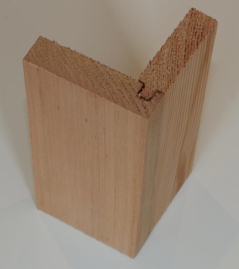 Timber cladding corners   Benchmark Timber